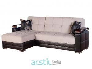Corner sofa and armchair Ekol