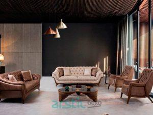 Sofa and Armchairs Alba