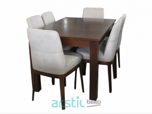 Table and chairs Deyzi Barton