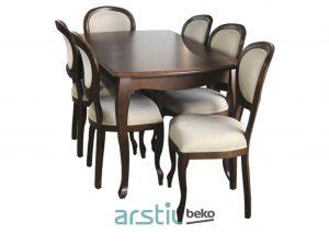 Table and chairs Elegy Gloriya W12