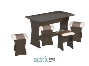 Սեղան+աթոռ TriYa Tip 1