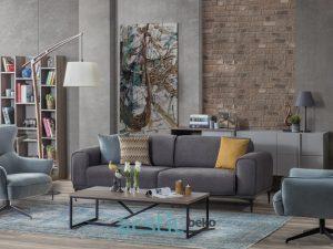 Sofa and Armchairs Gala Flat